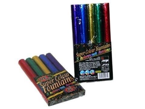 Jorge Fireworks Sp. z o.o SUPER COLOUR FONTAINS